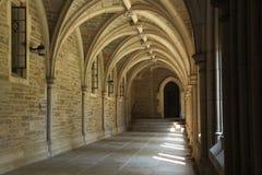 Arkitekturdetalj i det Princeton universitetet Arkivfoton