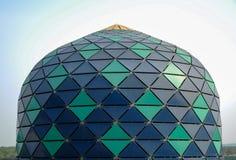 Arkitekturdetalj på Sultan Abdul Samad Mosque (KLIA-moskén) Royaltyfri Bild