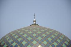 Arkitekturdetalj på Sultan Abdul Samad Mosque (KLIA-moskén) Arkivfoton