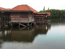 Arkitekturdetalj på det Maerokoco slottkomplexet Arkivbilder