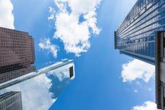Arkitekturdetalj - Philadelphia i stadens centrum glass byggnad - penna Royaltyfria Bilder