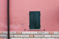 Arkitekturdetaljer och gamla fasader av Marche Royaltyfri Fotografi