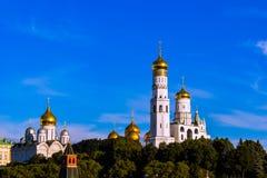 Arkitekturen av Moskva Arkivfoto