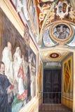 Arkitekturerna och konsten av Siena Fotografering för Bildbyråer