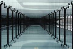 arkitekturexponeringsglas Arkivbilder