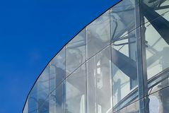 arkitekturexponeringsglas royaltyfri bild