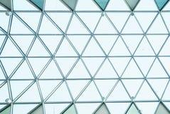 Arkitekturexponeringsglaskonstruktion Arkivbilder