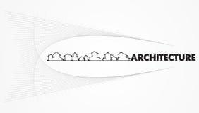 arkitekturföretagskonstruktion Royaltyfri Fotografi