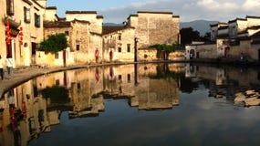 arkitekturkines huizhou Arkivbild