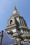 Arkitekturpagoden i Wat Pho Royaltyfria Bilder