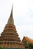 Arkitekturpagoden i Wat Pho Fotografering för Bildbyråer