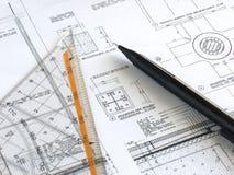 arkitekturprojekt arkivbild