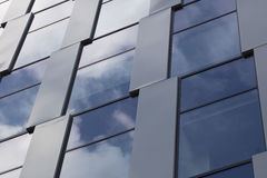 Arkitekturtema, höjd Arkivfoto
