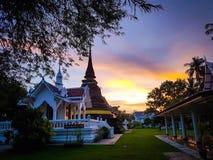 arkitekturtempel thailand royaltyfri bild