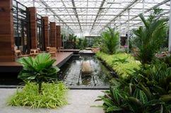 Arkitekturträdgårdar Arkivfoton