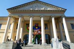 Arkitekturuniversitet på Mendrisio på den italienska delen av Swit Royaltyfri Fotografi