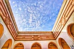 Arkitekturvägg Royaltyfria Bilder