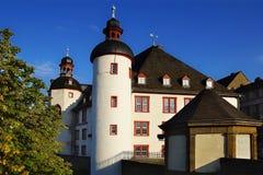 Arkiv av den gamla slotten E Royaltyfri Bild
