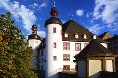 Arkiv av den gamla slotten. Koblenz Tyskland Arkivbilder