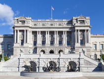 Arkiv av kongressen (Jefferson Building) arkivfoto