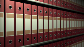 Arkiv en kugge stock video