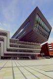 Arkiv och lärande mittuniversitet av nationalekonomi Wien royaltyfri fotografi