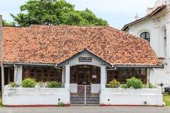 Arkivbyggnad i historisk stad av Galle, Sri Lanka royaltyfria foton