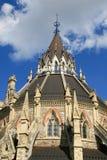 Arkivet av parlamentet i Ottawa, Kanada Arkivfoto