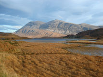 Arkle and Loch Stack, North West Highlands of Scotland Royalty Free Stock Photo