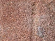 Взгляд детали на arkosic камне песчаника Стоковые Фотографии RF