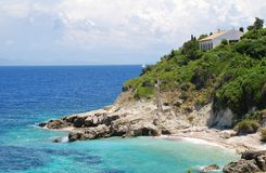 Arkoudaki beach, Paxos Royalty Free Stock Photos
