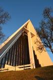 Arktische Kathedrale Stockfotografie