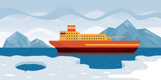 Arktische Kreuzfahrt Stockfoto