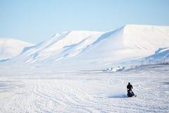 Arktische Landschaft Stockbild