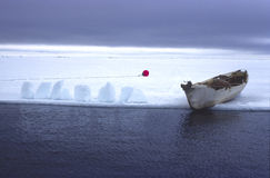 Arktischer Alaska-Beaufortsee-Eskimowalfang Lizenzfreie Stockfotos