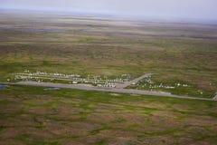 Arktischer Kirchhof stockbilder