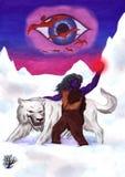 Arktischer Wolf (2008) Stockfoto