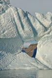 Arktisches Eis und Geologie Lizenzfreie Stockfotografie