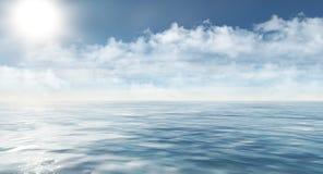 Arktisches Meer Stockfotografie