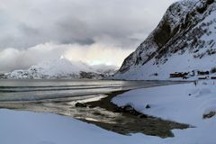 Arktisches Norwegen Lizenzfreies Stockbild