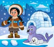 Arktisches Themabild 6 Lizenzfreie Stockfotografie