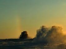 arktisk expedition Arkivfoton