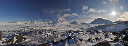 arktisk greenland liggande arkivfoton