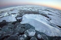 arktisk havöverkantvärld Arkivfoto