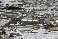 arktisk kanadensisk town royaltyfri fotografi