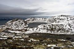 arktisk kust Royaltyfria Bilder