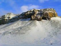 arktisk liggande Arkivfoto