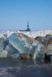 arktisk rigg arkivbild