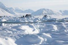 arktiskt klimat Arkivbild
