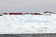 Arktyczna badawcza stacja obrazy royalty free